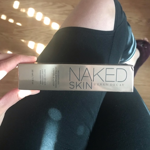 Urban Decay Other - Urban decay naked skin foundation